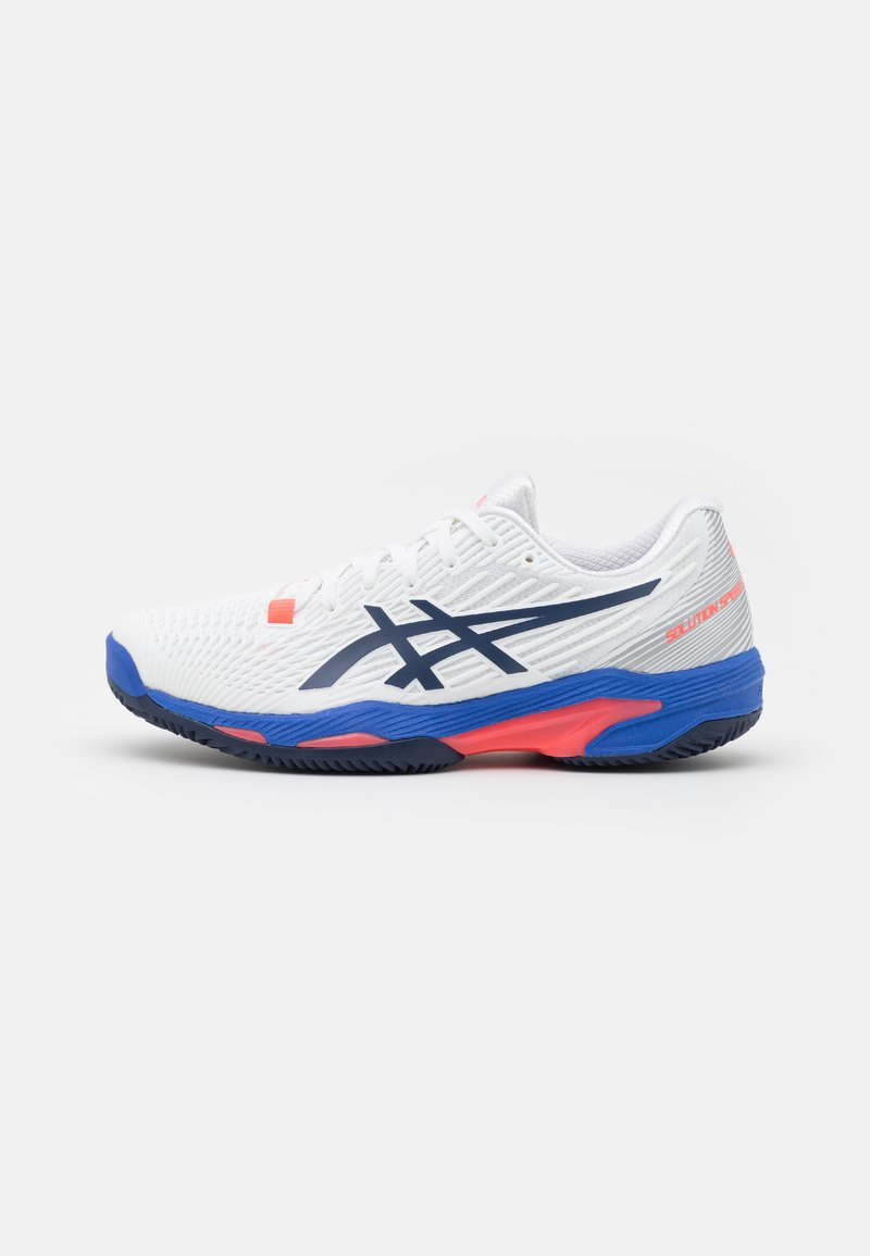 ASICS - SOLUTION SPEED FF CLAY - Clay court tennis shoes - white/peacoat