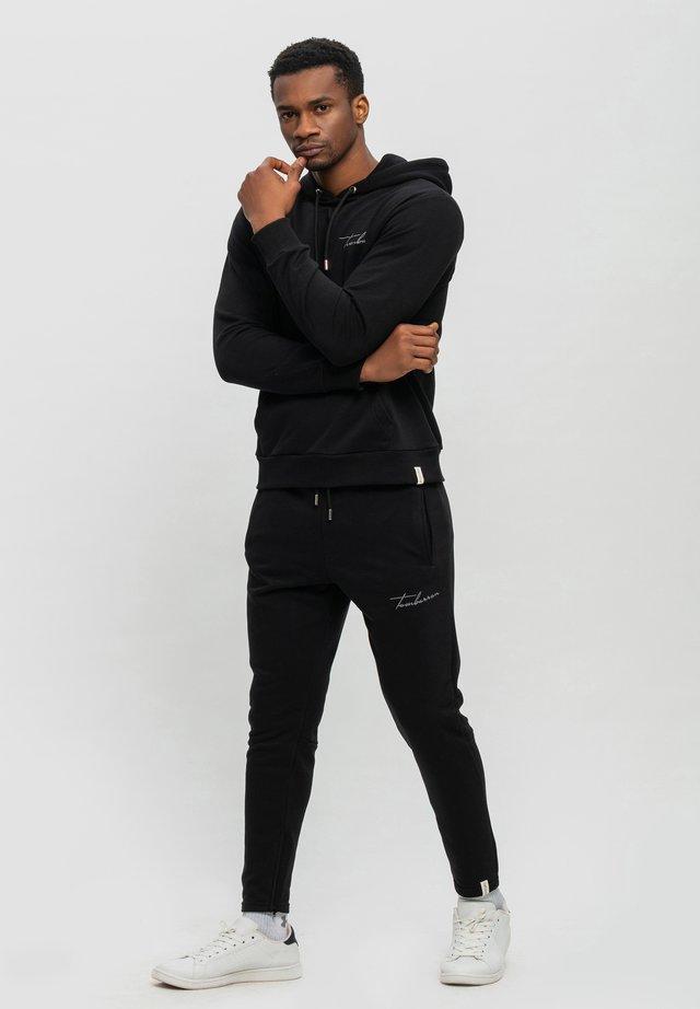 SET - Hoodie - schwarz