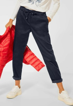 CASUAL FIT  - Trousers - deep blue