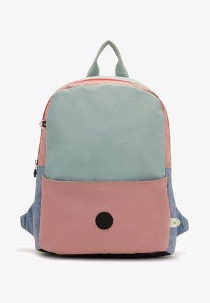 SONNIE KLE - Mochila - pink blue block