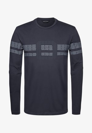 MOORING - Long sleeved top - grey anthracite