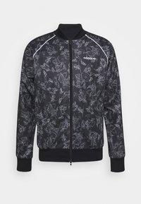 adidas Originals - GOOFY - Bomber Jacket - black/white - 4