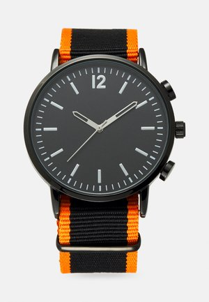 Reloj - black/orange