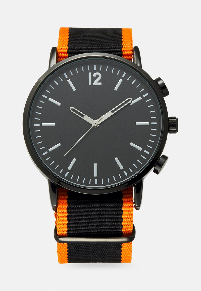 Pier One - Rannekello - black/orange