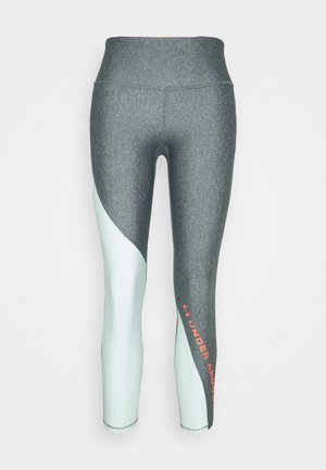 ANKLE CROP - Leggings - charcoal light heather