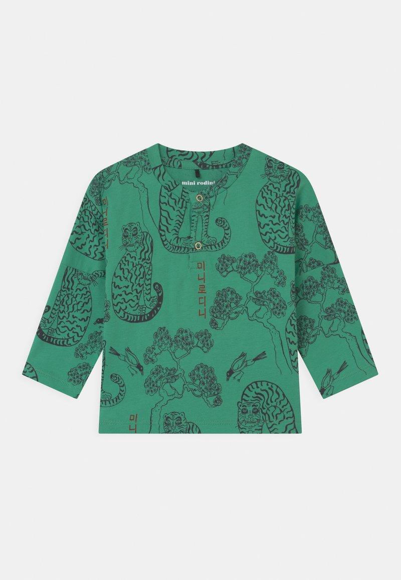 Mini Rodini - TIGERS GRANDPA UNISEX - Long sleeved top - green