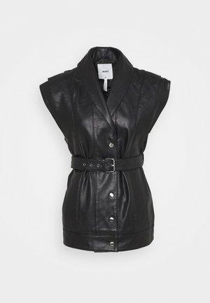 OBJMIMI WAISTCOAT - Waistcoat - black