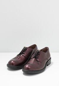 MJUS - Šněrovací boty - wine/plum - 2