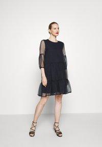 InWear - KATERINA DRESS - Cocktail dress / Party dress - marine blue - 0