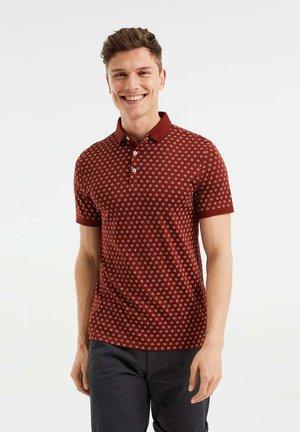 SLIM FIT  - Polo shirt - burgundy red
