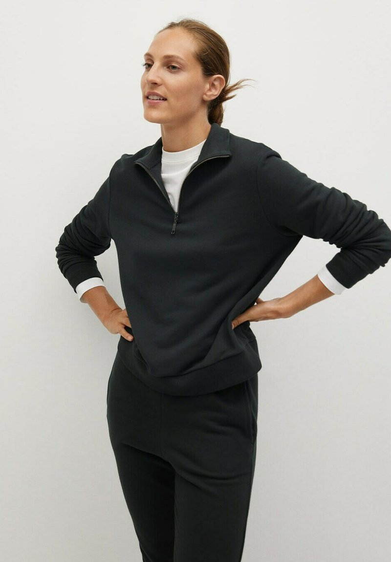 Mango - RIVI-A - Sweatshirt - gris anthracite