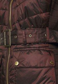 Barbour International - GLEANN QUILT - Light jacket - cocoa - 5