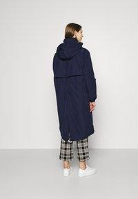 Lacoste - Classic coat - navy blue/white - 2