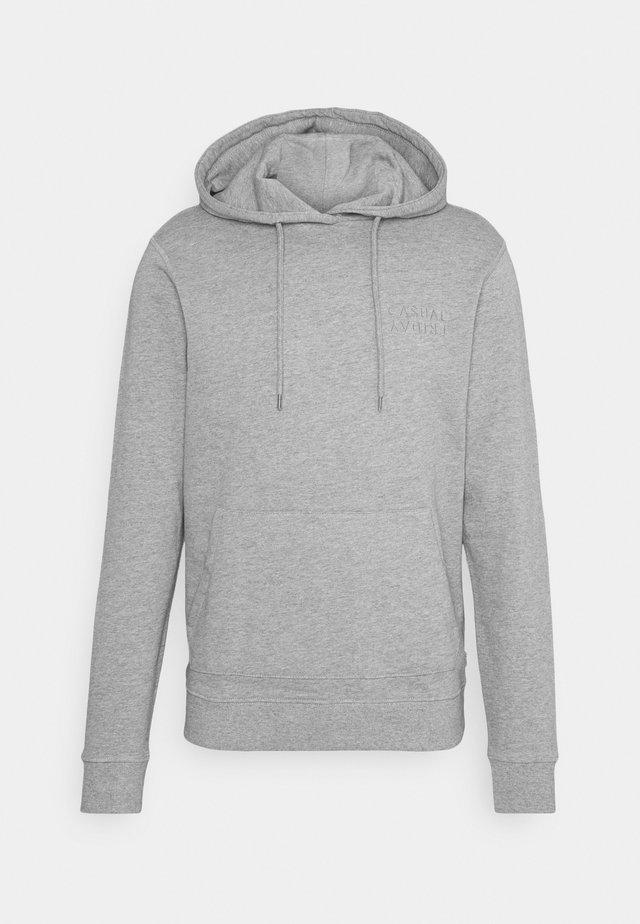 SEBASTIAN HOOD - Sweater - grey