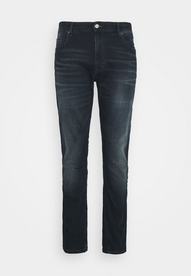 SCANTON SLIM - Slim fit jeans - CORNELL BLUE BLACK STRETCH