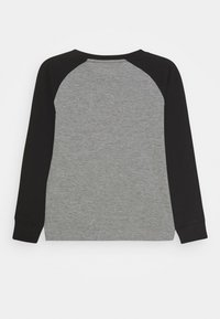 Nike Sportswear - AIR RAGLAN - Langærmede T-shirts - carbon heather/black - 1