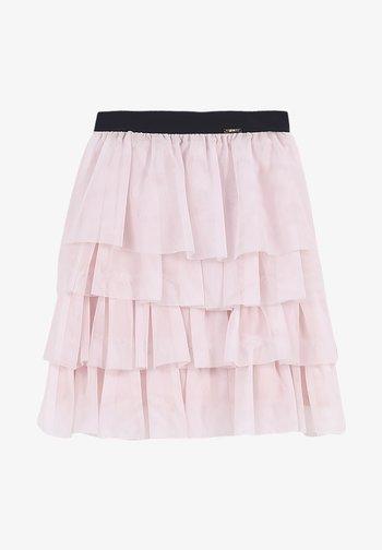 Pliceret nederdel /Nederdele med folder - pearl pink