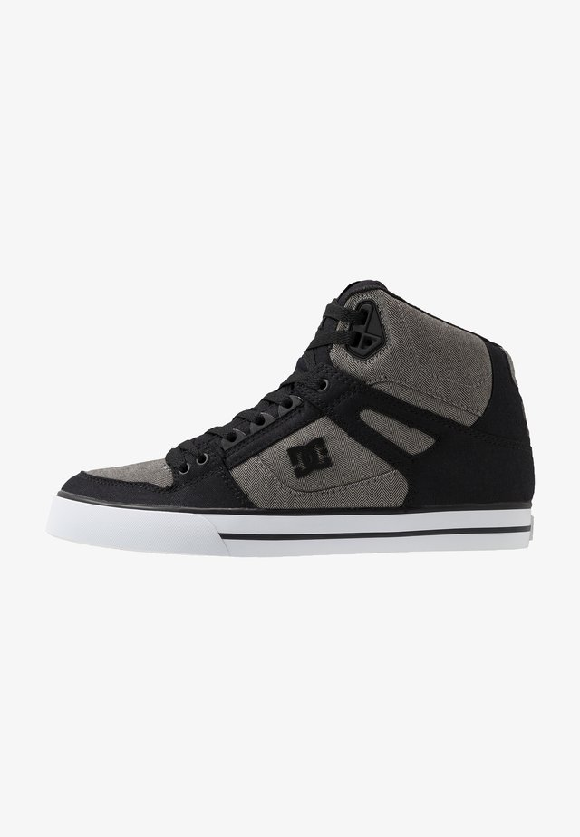 PURE UNISEX - Skate shoes - black