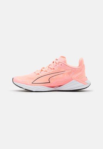 ULTRARIDE - Neutral running shoes - elektro peach/black/white