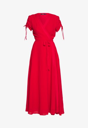 DRAPEY - Day dress - red