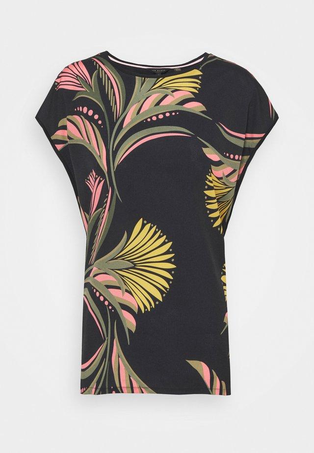 PASLEY - T-shirt print - black