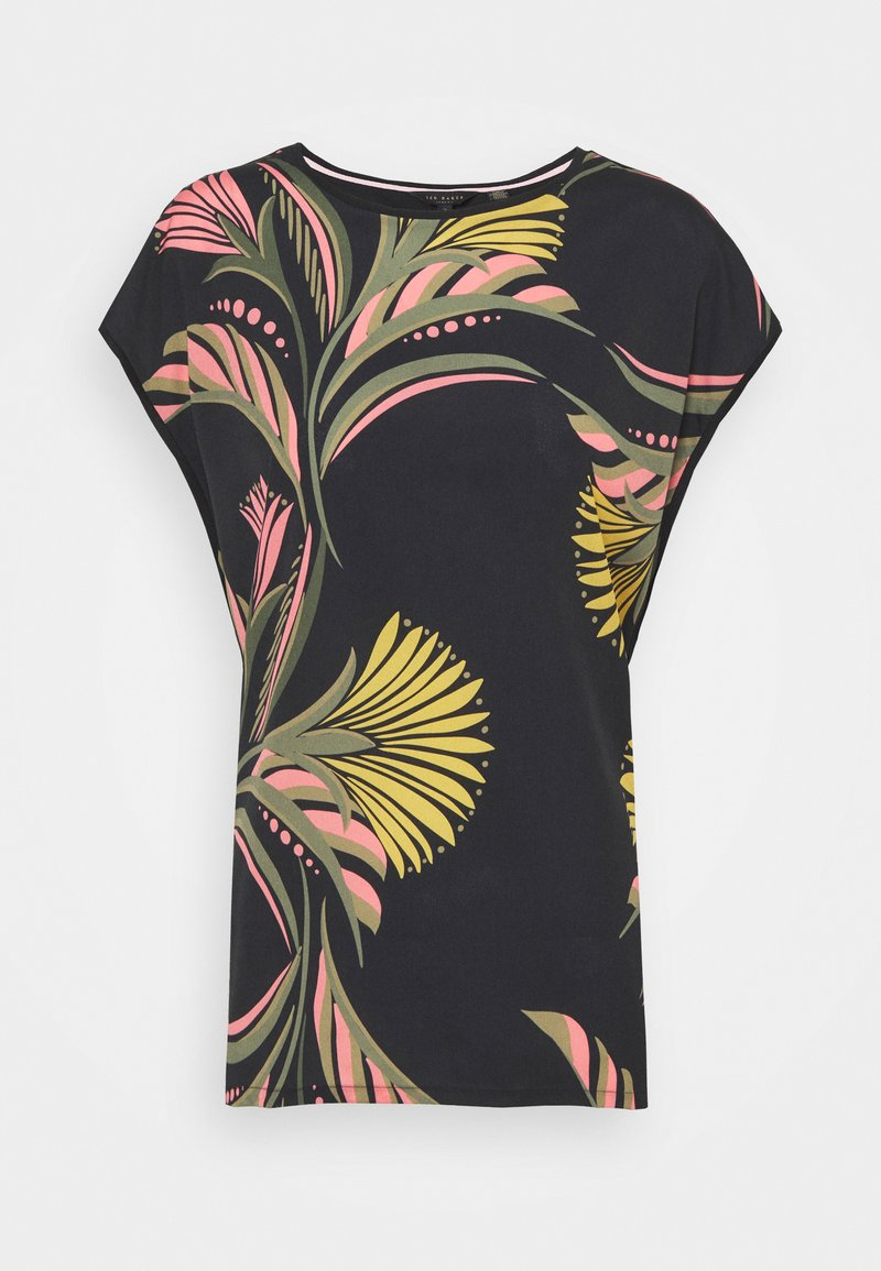 Ted Baker - PASLEY - Print T-shirt - black