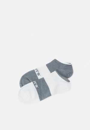 LOW CUT 2 PACK - Calze - white/grey