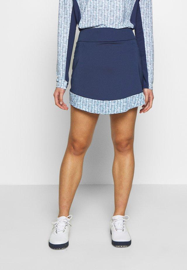 SKORT - Sports skirt - tech indigo