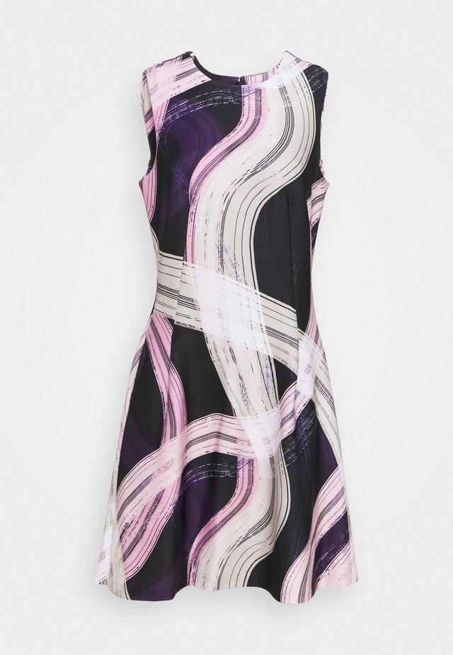 Vestito di maglina - black/ivory