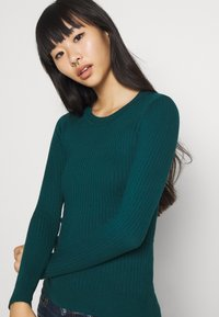 Even&Odd - Sweter - deep teal - 3