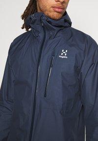 Haglöfs - JACKET MEN - Hardshell jacket - tarn blue - 5