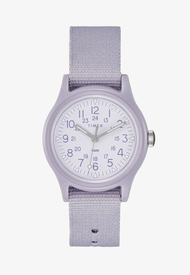 WOMENS CAMPER CASE WHITE DIAL STRAP - Klokke - purple