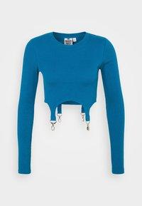 CLONED TEE - Long sleeved top - teal