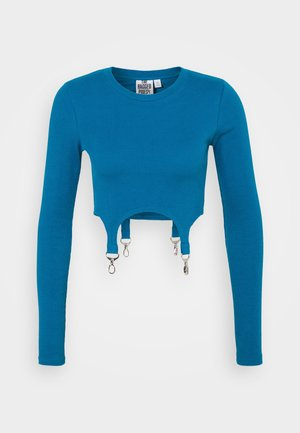 CLONED TEE - Long sleeved top - teal