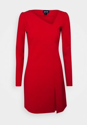 Day dress - grenadine red