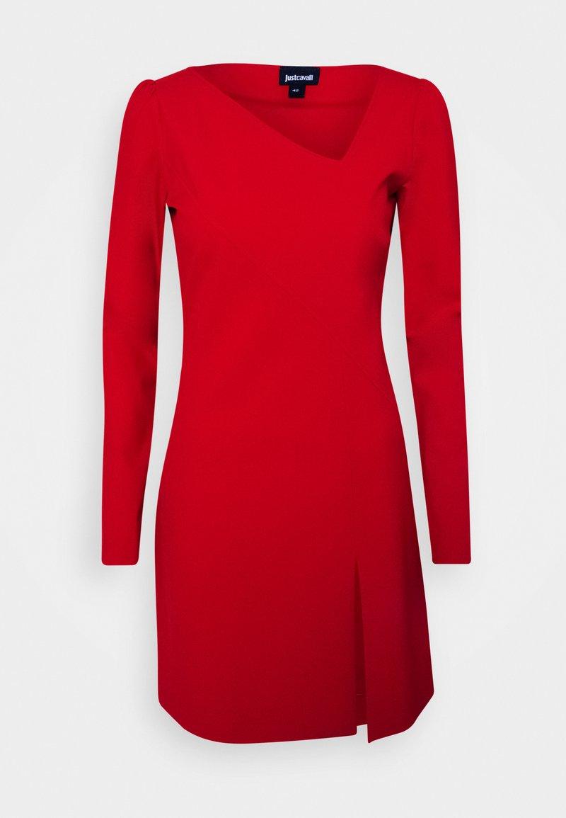 Just Cavalli - Denní šaty - grenadine red