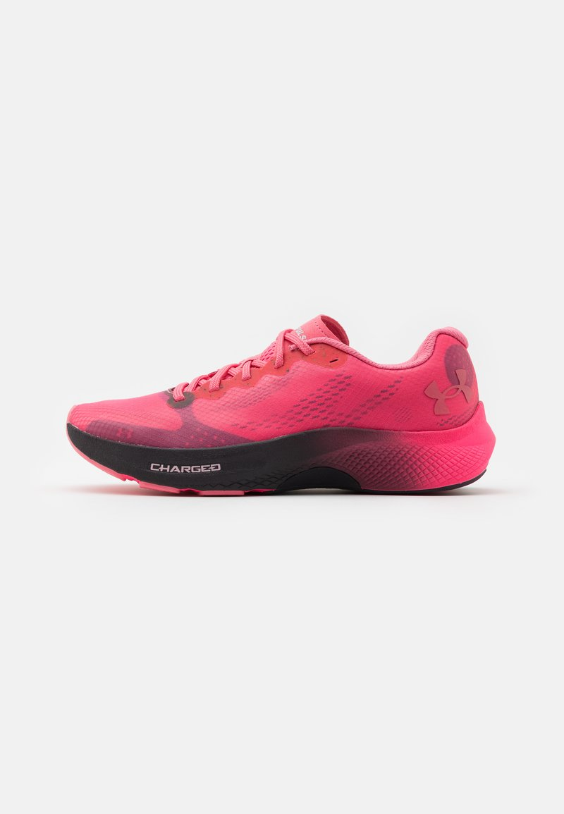 Under Armour - CHARGED PULSE - Neutral running shoes - pink lemonade