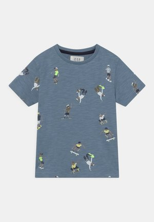 KID - T-shirt print - light blue