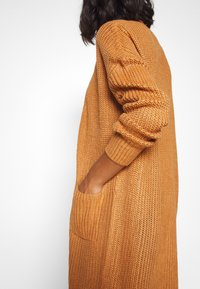 Missguided Petite - LONGLINE PATCH POCKET  - Kardigan - camel - 4