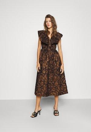SLFANDRINA MIDI DRESS - Cocktail dress / Party dress - coffee bean