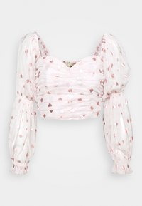 Lace & Beads - CRISTINA - Blusa - nude - 4