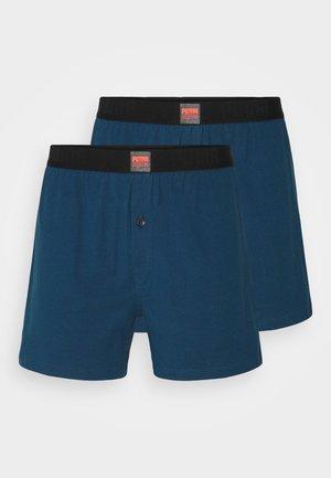 MEN LOOSE 2 PACK - Boxershorts - strong blue