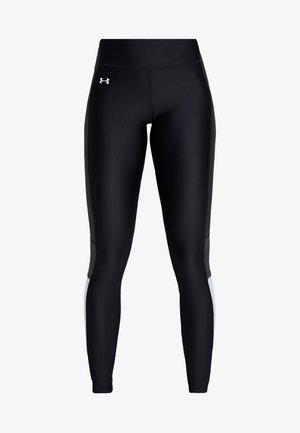 ARMOUR PERFORATION INSET LEGGINGS - Collants - black/halo gray