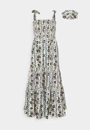 PRINTED TIE SHOULDER DRESS - Day dress - climbing vines