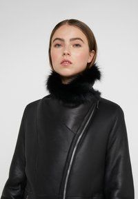 STUDIO ID - PHILIPPA JACKET - Leather jacket - black - 4