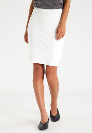 PENNY  - Pencil skirt - chalk