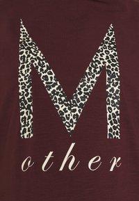 MAMALICIOUS - MLDOREEN  - Print T-shirt - decadent chocolate - 2