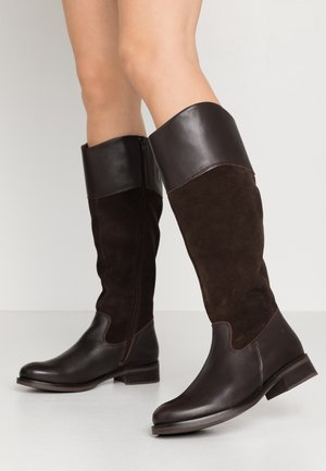 BOOTS - Boots - mocca