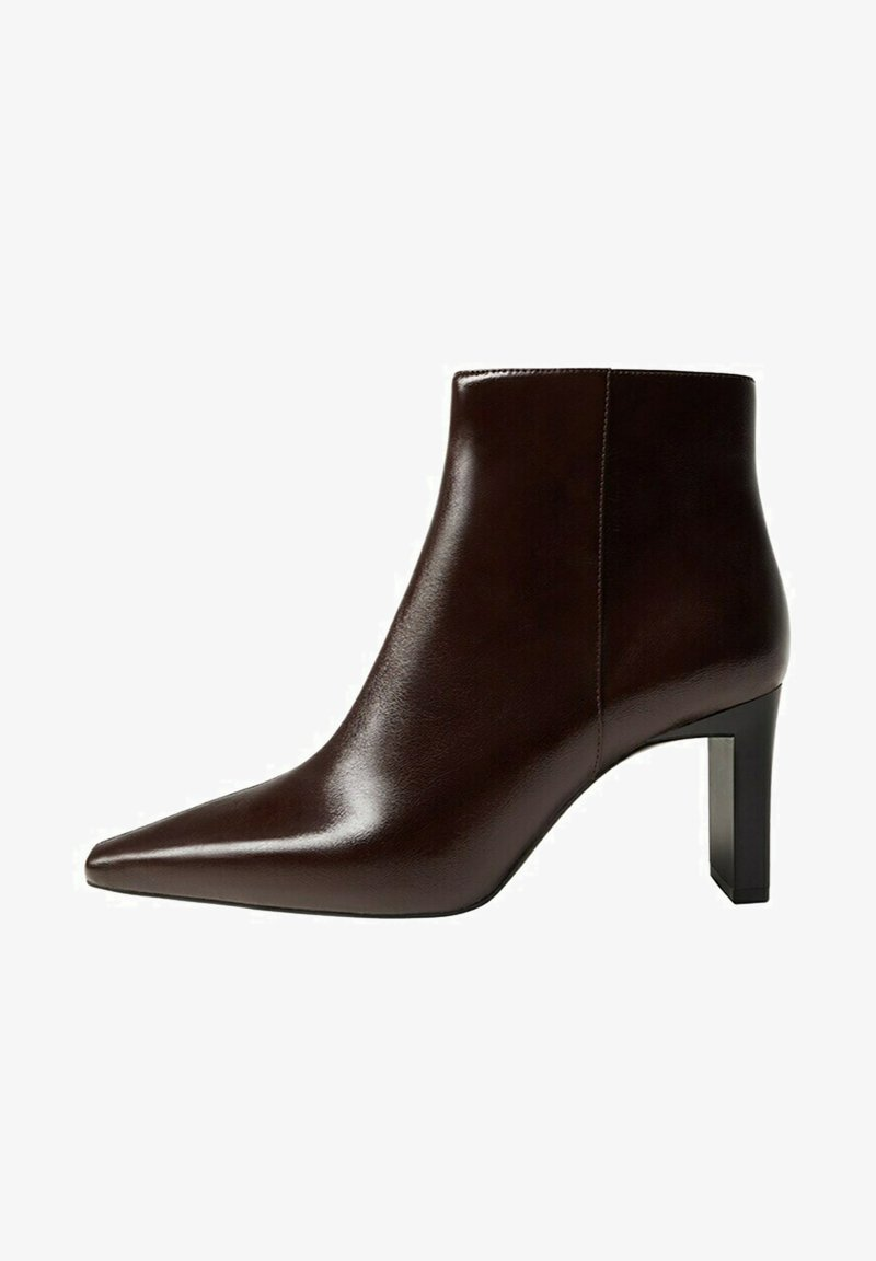 Mango - MOON - Classic ankle boots - chocolat
