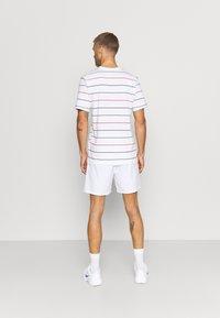 Nike Performance - STRIPES TEE - Print T-shirt - white - 2